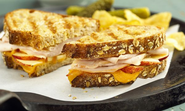Turkey, Cheddar, And Green-Apple Sandwich Recipes — Dishmaps