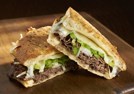 Philadelphia Cheesesteak Panini