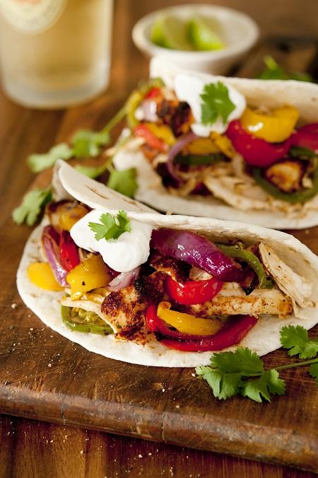 chicken fajitas small