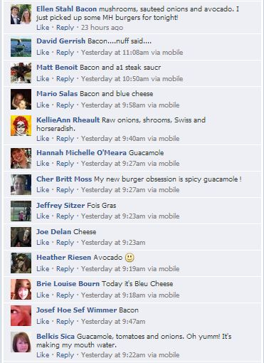 FB burger feedback 2